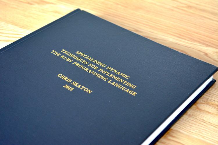 Chris daggett doctoral dissertation
